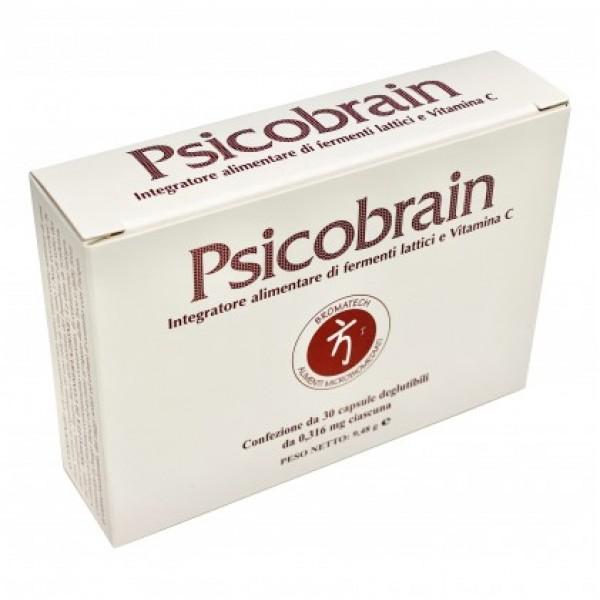 Psicobrain - Integratore per il benessere del sistema nervoso - 30 capsule