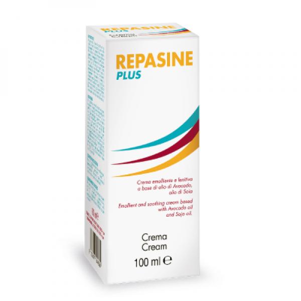 Repasine Plus - Crema emolliente e lenitiva per arrossamenti ed irritazioni della pelle - 100 ml
