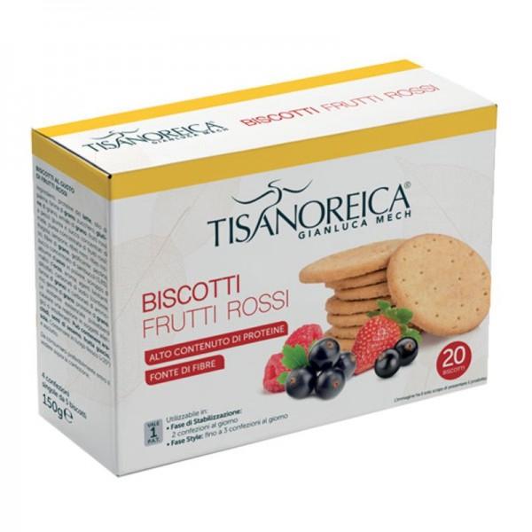 Tisanoreica Biscotti ai Frutti Rossi - A...