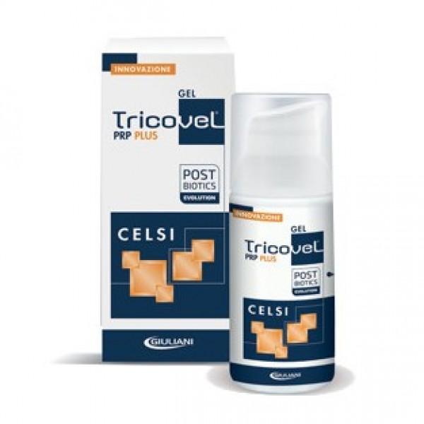 Tricovel PRP Plus Celsi - Gel ricrescita capelli in caso di alopecia - 30 ml