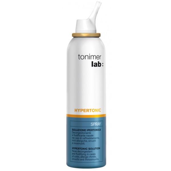 Tonimer Lab Spray Hypertonic Soluzione Ipertonica Sterile 125 ml
