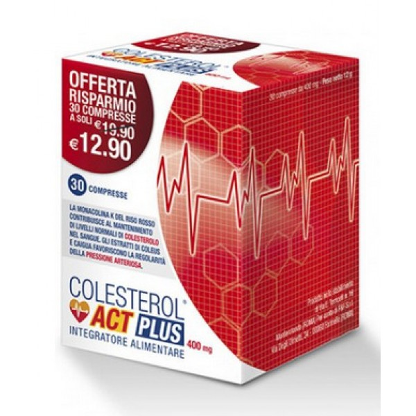 COLESTEROL ACT PLUS - Integratore per il...