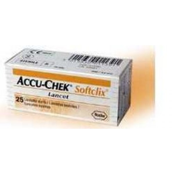 Accu-check Softclix 200 Lancette pungidi...