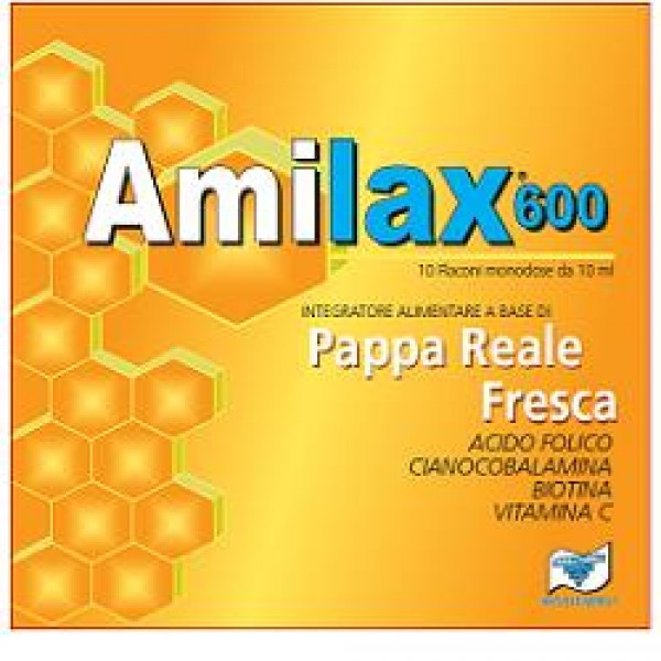 AMILAX 600 10 Flaconcini 10 ml