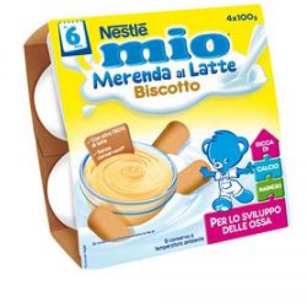 MIO Mer.Latte Biscotto 4x100g