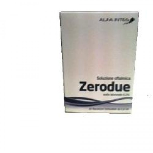ZERODUE Sol.Oft.20fl.0,6ml