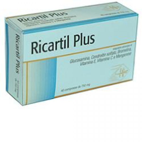RICARTIL Plus 40 Cpr 750mg