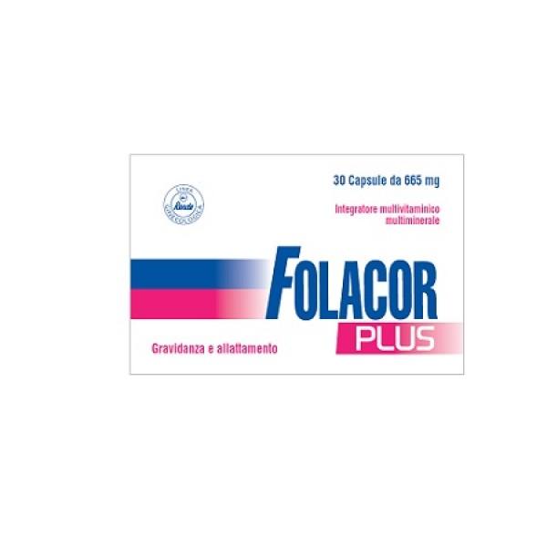 FOLACOR Plus 30 Cps 665mg