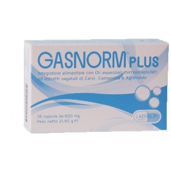 GASNORM Plus 36 Opercoli 650mg