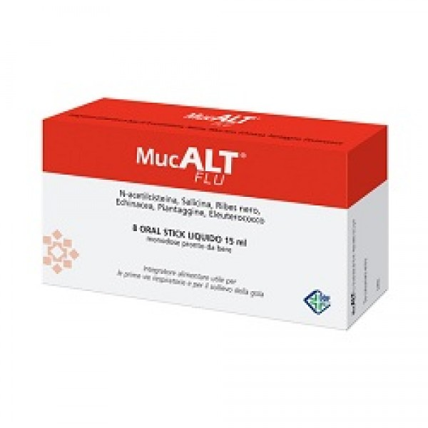 MUCALT Flu 8 Stick Mono 15ml