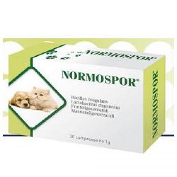 NORMOSPOR 20 Cpr 1g