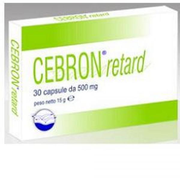 CEBRON Retard 30 Cps 500mg