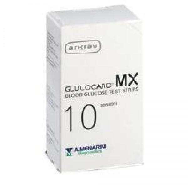 GLUCOCARD MX Blood Glucose 10 Strisce pe...
