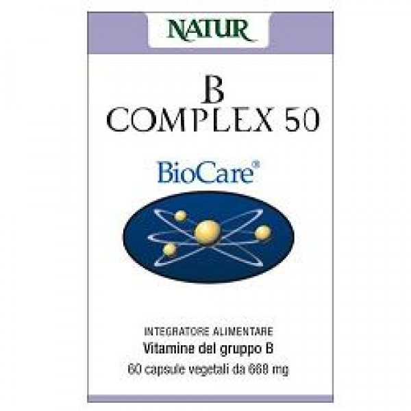 B COMPLEX*50 30 Cps NATUR
