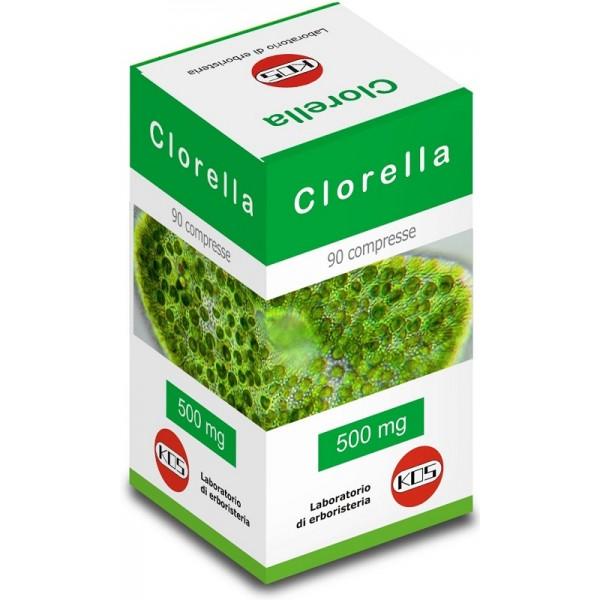 Alga Clorella 90 Compresse 500 mg