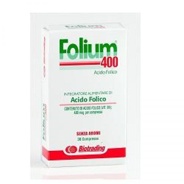 FOLIUM 30 Compresse 400mg