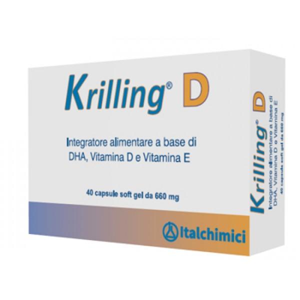 KRILLING D 40 Capsule 660 mg