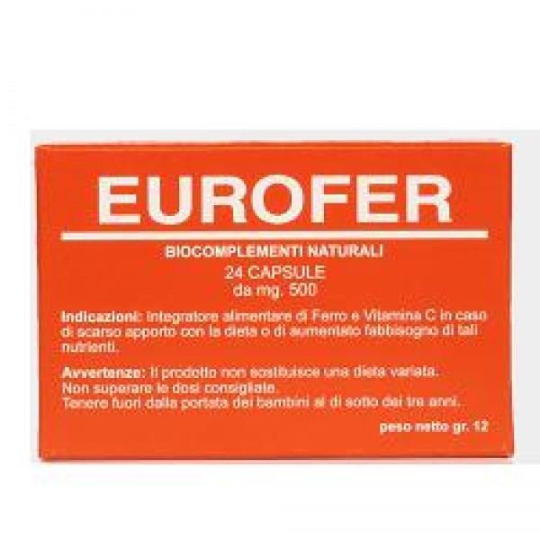 EUROFER Biocompl.24 Cps 500mg