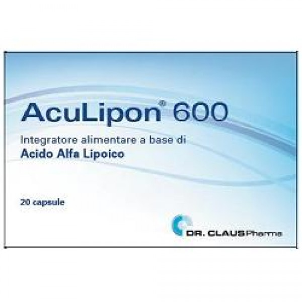 ACULIPON 600 Integr.20 Cps