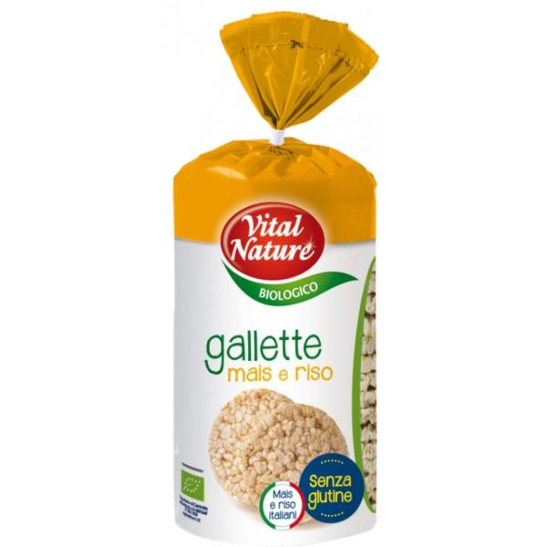 ITAL'NATURE Gallette Mais 135g