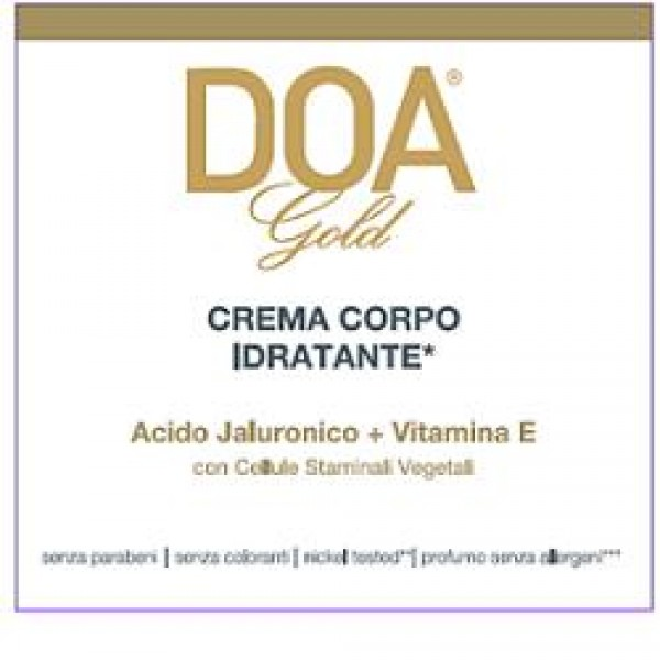 DOA GOLD Crema Corpo Idr.200ml