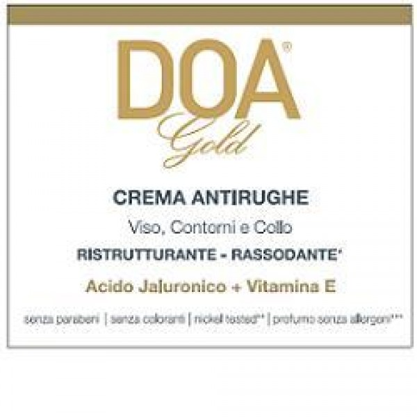 DOA GOLD Crema A-Rughe 50ml