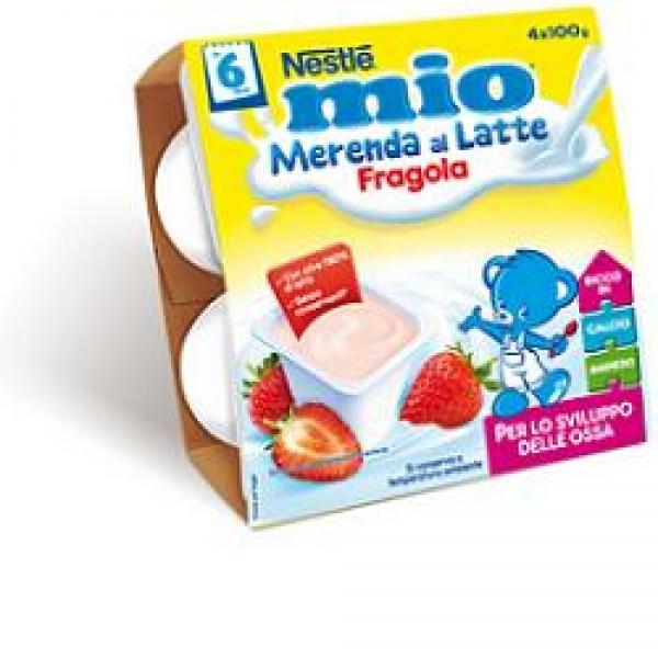 MIO Mer.Lattea Fragola 4x100g