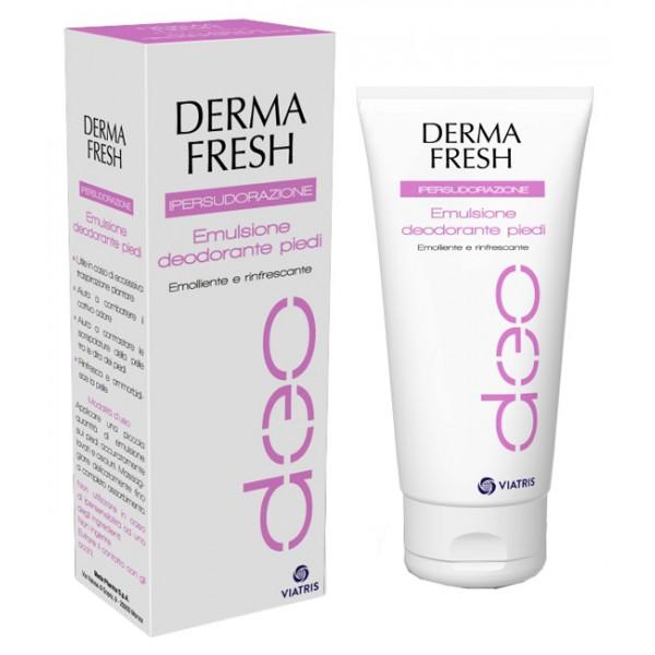 DERMAFRESH Deo Ipersudorazione Emulsione Piedi Deodorante 100 ml
