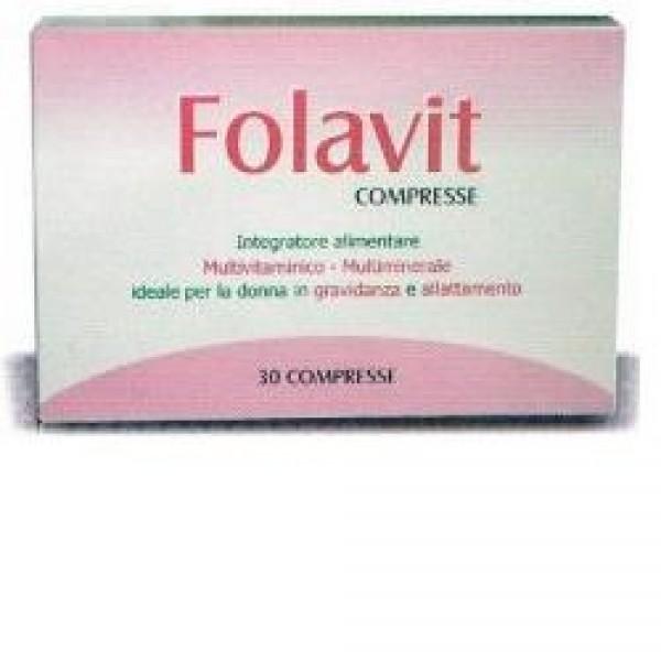 FOLAVIT 30 Cpr 18g