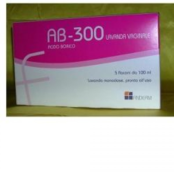 AB 300 Lavanda Vaginale 5 flaconi 140 ml