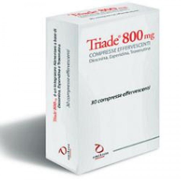 TRIADE 800 mg 30 Compresse Effervescenti