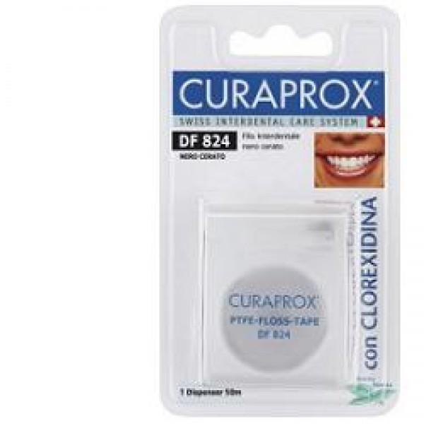 CURAPROX Dent-Floss Cer.Nero