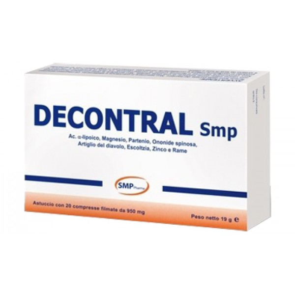 DECONTRAL 20 Cpr 950mg