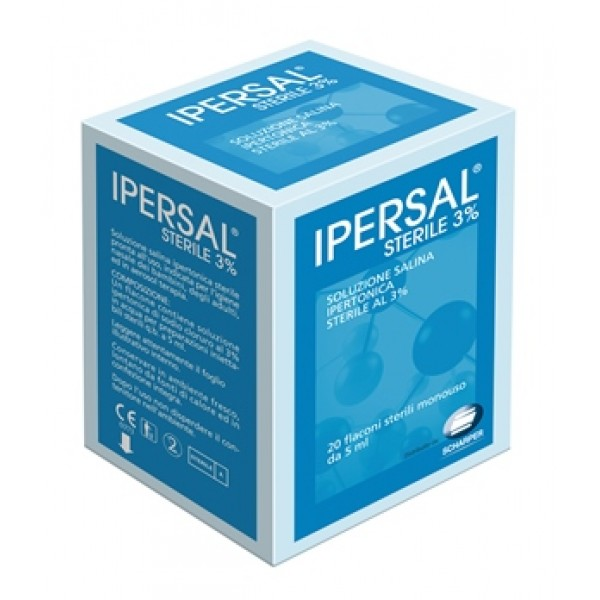 IPERSAL Sterile 3% 20fl.5ml