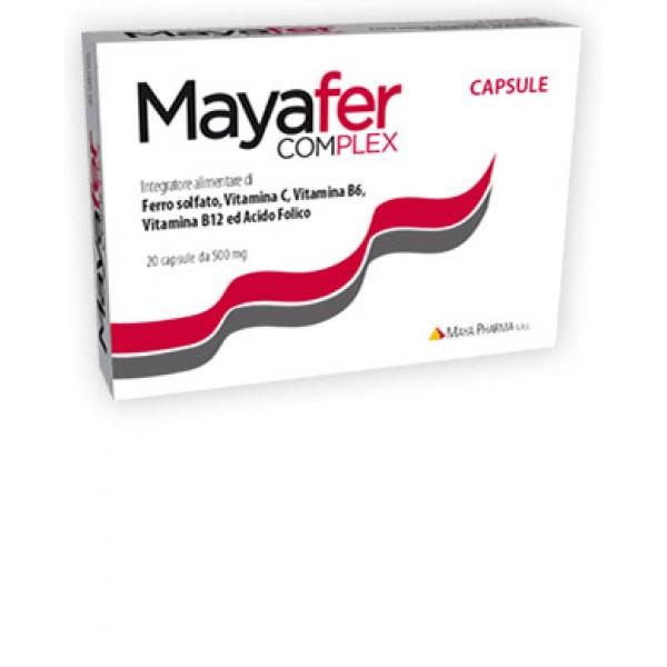 MAYAFER Cpx 20 Cps 500mg
