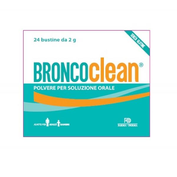 BRONCOCLEAN Polv.24 Bust.2g