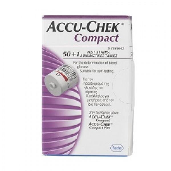 ACCUCHEK Compact 3x17 Strisce per Glicem...