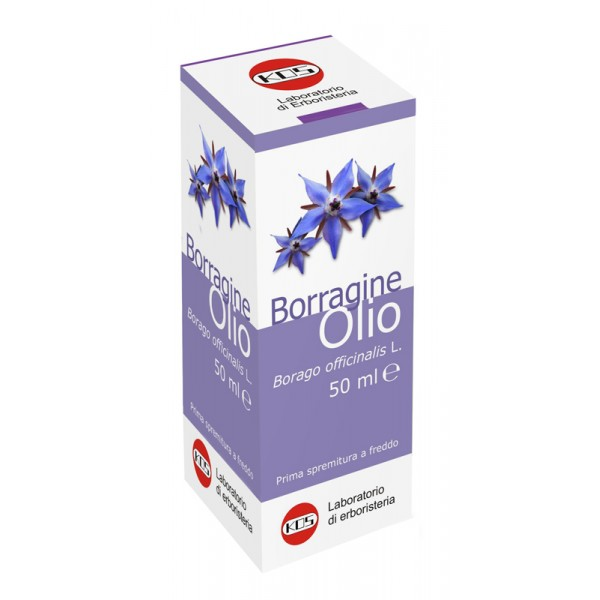 BORRAGINE Olio Vegetale 50 ml