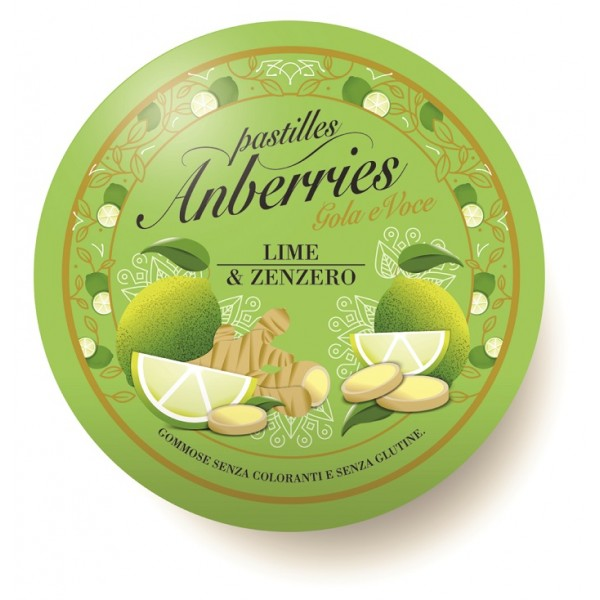 ANBERRIES Past.Lime-Zenzero