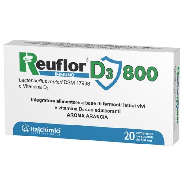 Reuflor D3 800 - Integratore per l'equil...