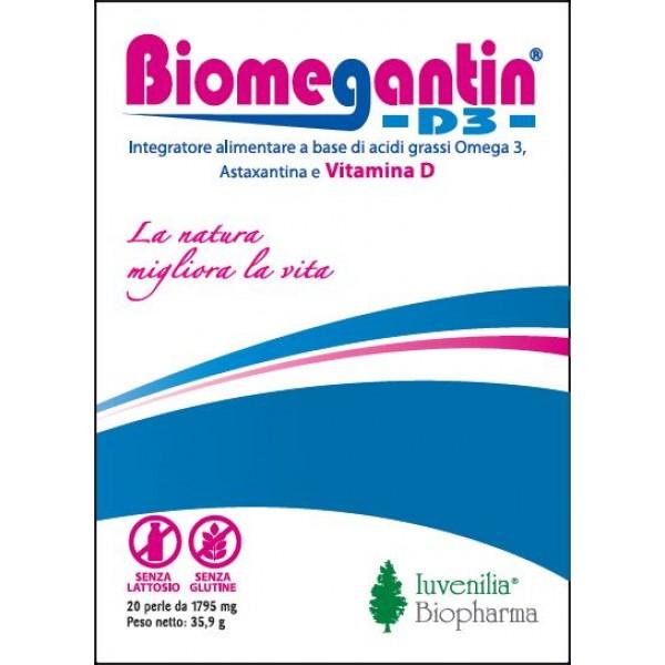 BIOMEGANTIN D3 - 20 Perle