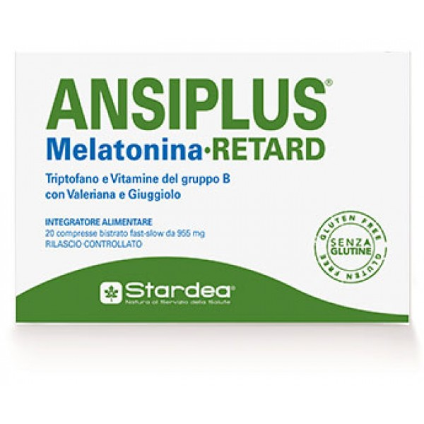 ANSIPLUS Retard 20 Cpr 955mg