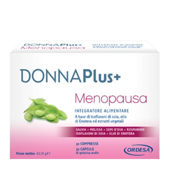 DONNAPLUS+ Menopausa 30Cpr+Cps