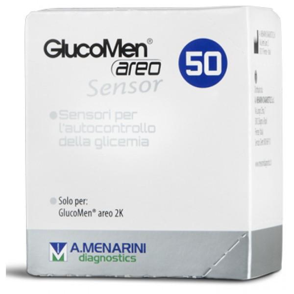 GLUCOMEN Areo Sensor 50 Strisce per Glicemia