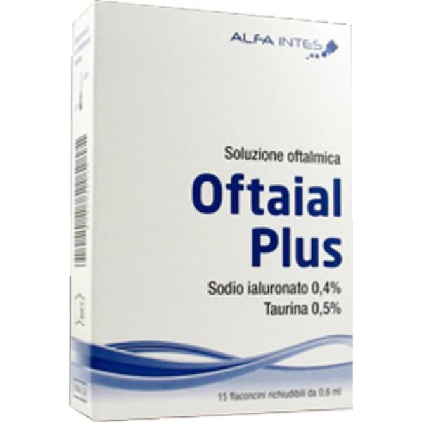 OFTAIAL Plus Soluzione Oftalmica 15 Flac...