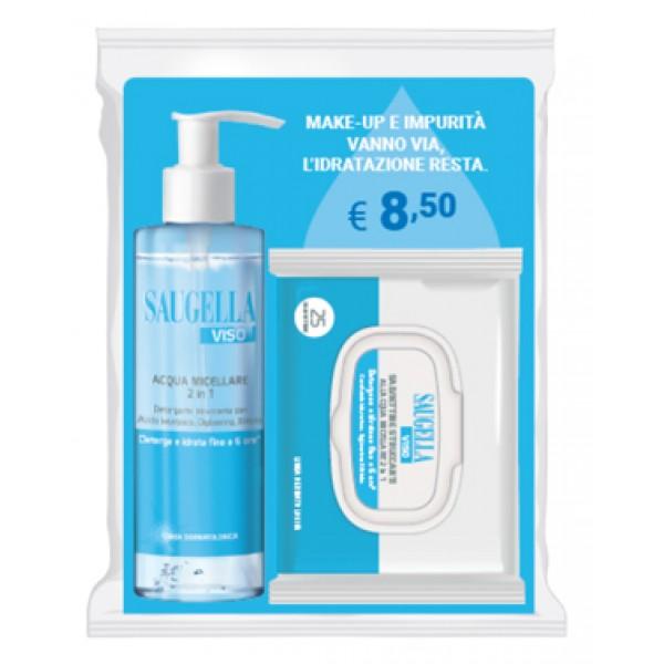 Saugella Acqua Micellare 2 in 1 200 ml +...