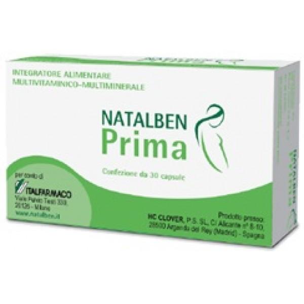 NATALBEN-PRIMA 30 Capsule