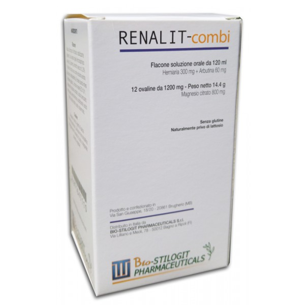 RENALIT Combi 12Cps+Scir.120ml