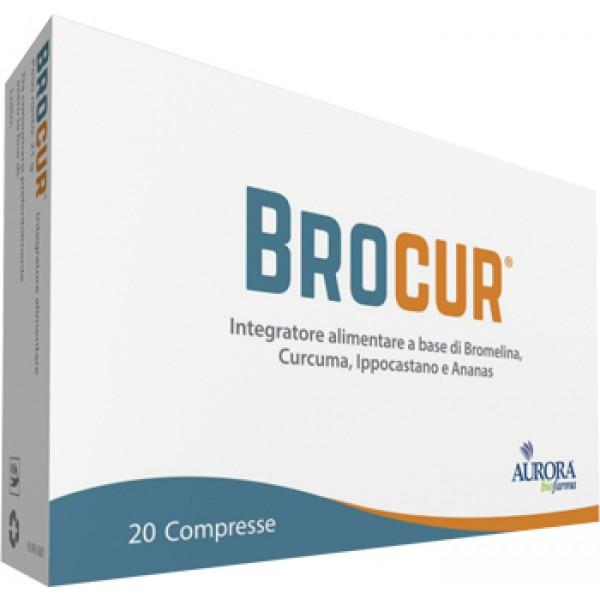 Brocur - Integratore Alimentare - 20 Compresse
