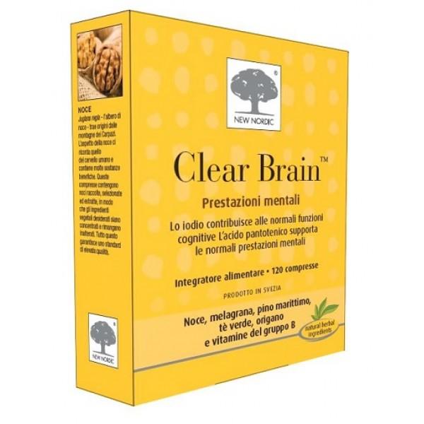 CLEAR BRAIN 120 Compresse